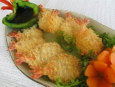 Frozen crumbed butterfly Prawn